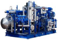Compressor units for petrochemical industry